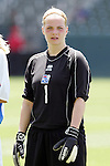 24 July 2005: Iceland goalkeeper Maria Agustsdottir. The United States defeated Iceland 3-0 at the Home Depot Center in Carson, California in a Women's International Friendly soccer match.