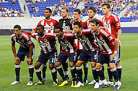 Chivas USA starting eleven. The New York Red Bulls defeated Chivas USA 1-0 during a Major League Soccer (MLS) match at Red Bull Arena in Harrison, NJ, on June 5, 2010.