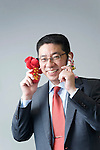Morinosuke Kawaguchi, associate directorArthur D. Little (Japan), Inc., poses for a photo at his company's offices  in Tokyo, Japan on Wednesday 18 Aug. 2011..Photographer: Robert Gilhooly