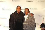"""Shawn """"Jay-Z"""" Carter and Gloria Carter Attend the Shawn Carter Foundation 2011 Carnival at Hudson River Park's Pier 54: The Shawn Carter Foundation's Exclusive Fundraising Event to Support its College Scholarship, NY  9/29/11"""