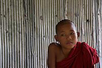 Monks at the Inle Lake Monastery,Inle Lake Festival - Inle Lake, Shan State, Myanmar