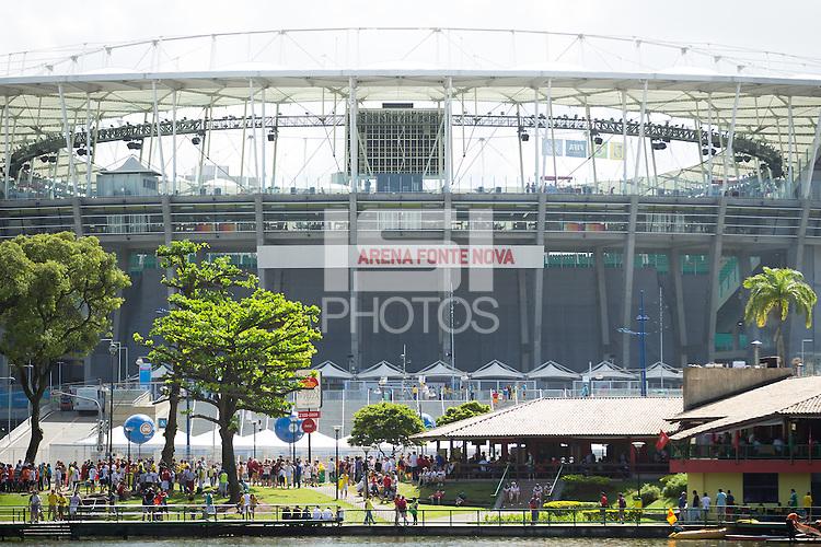 General View of the Salvaador stadium Arena Fonte Nova