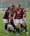 Sandhausen 19.04.2008, Vorne der Torsch&uuml;tze Steffen Wohlfarth (Ingolstadt) in der Regionalliga S&uuml;d 2007/08 SV Sandhausen 1916 - FC Ingolstadt 04<br /> <br /> Foto &copy; Rhein-Neckar-Picture *** Foto ist honorarpflichtig! *** Auf Anfrage in h&ouml;herer Qualit&auml;t/Aufl&ouml;sung. Belegexemplar erbeten.