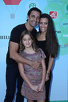 CULVER CITY, CA - SEPTEMBER 24: Carole Marini, Gilles Marini, Juliana Marini attends the Step2 & Favored.by Present The 5th Annual Red Carpet Safety Awareness Event at Sony Pictures Studios on September 24, 2016 in Culver City, California. (Credit: Parisa Afsahi/MediaPunch).