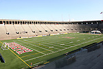 12 July 2009: A wide shot of Harvard Stadium from the stands. Sky Blue FC defeated the Boston Breakers 2-1 at Harvard Stadium in Cambridge, Massachusetts in a regular season Women's Professional Soccer game.