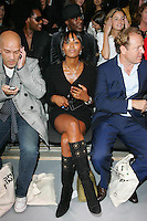 Naomi Campbell at the Fashion Fringe show in Covent Garden Market..