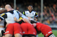 Semesa Rokoduguni of Bath Rugby looks on. Aviva Premiership match, between Saracens and Bath Rugby on January 30, 2016 at Allianz Park in London, England. Photo by: Patrick Khachfe / Onside Images