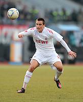 FUSSBALL   1. BUNDESLIGA  SAISON 2011/2012   22. Spieltag 1 FC Nuernberg - 1. FC Koeln       18.02.2012 Christian Clemens (1. FC Koeln)
