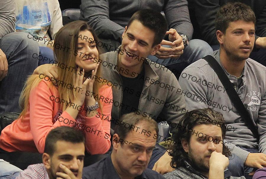 Kosarka Euroleague season 2015-2016<br /> Euroleague <br /> Crvena Zvezda v Real Madrid<br /> Djordje Djokovic (C)<br /> Beograd, 27.11.2015.<br /> foto: Srdjan Stevanovic/Starsportphoto &copy;