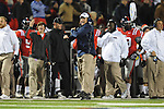 Ole Miss assistant coach Tom Allen vs. Mississippi State at Vaught-Hemingway Stadium in Oxford, Miss. on Saturday, November 24, 2012. Ole Miss won 41-24.