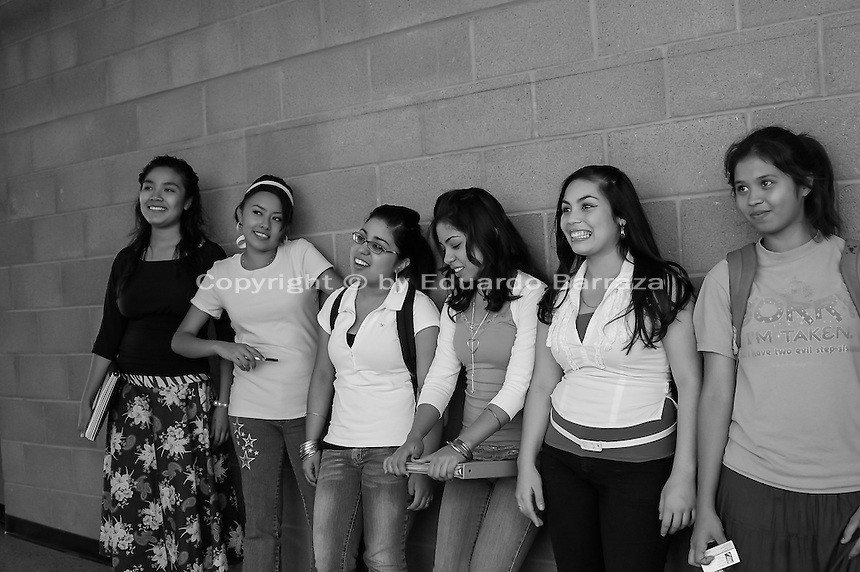 High school students in Phoenix, Arizona.