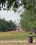 The Governor's Place Colonial Williamsburg Virginia, Williamsburg Virginia 1699 to 1780 capital Commonwealth of Virginia molding democracy for the United States of America.  Williamsburg was the center of government, education and culture in the Colony of Virginia, george Washington, Thomas Jefferson, Patrick Henry, James Monroe, Hames Madison, George Wythe, Peyton Randolph and others molded democracy for the United States, The Governor's Place,