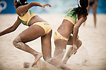 Women's Beach Volleyball, Summer Olympics, Beijing, China, August 14, 2008