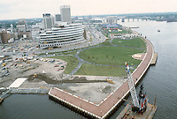 1983 June ..Redevelopment.Downtown West (A-1-6)..LOOKING  EAST.TOWN POINT PARK..NEG#.NRHA#..