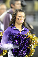 Nov 08, 2014:  Washington cheerleader Yasmin Richter pumped up fans during the game against UCLA.  Washington defeated UCLA at Husky Stadium in Seattle, WA.