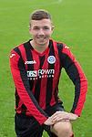 Scott Wilson, St Johnstone FC...Season 2014-2015<br /> Picture by Graeme Hart.<br /> Copyright Perthshire Picture Agency<br /> Tel: 01738 623350  Mobile: 07990 594431