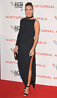 Elizabeth Chambers at the &quot;Nocturnal Animals&quot; 60th BFI London Film Festival Headline gala screening, Odeon Leicester Square cinema, Leicester Square, London, England, UK, on Friday 14 October 2016.<br /> CAP/CAN<br /> &copy;CAN/Capital Pictures /MediaPunch ***NORTH AND SOUTH AMERICAS ONLY***