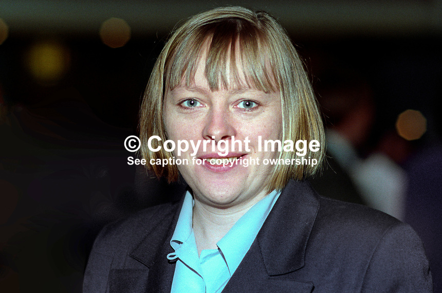 Angela Eagle, MP, Labour Party, UK, taken annual conference October 1992. 19921026AE.<br />