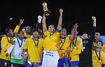 Fussball international: Brasilien gewinnt den FIFA 2009 Confederations Cup