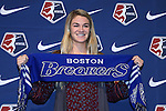 15 January 2016: Christen Westphal was taken with the #3 overall pick by the Boston Breakers. The 2016 NWSL College Draft was held at The Baltimore Convention Center in Baltimore, Maryland as part of the annual NSCAA Convention.