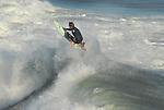 Surfing Lighthouse Point in Santa Cruz