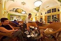 Phnom Penh, Cambodia. Raffles Hotel Le Royal. Elephant Bar.