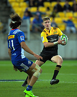 Jordie Barrett in action during the Super Rugby match between the Hurricanes and Stormers at Westpac Stadium in Wellington, New Zealand on Friday, 5 May 2017. Photo: Dave Lintott / lintottphoto.co.nz