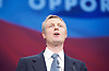 Conservative Party Conference <br /> Manchester, Great Britain <br /> Day 3<br /> 6th October 2015 <br /> <br /> Zac Goldsmith <br /> London Mayoral candidate <br /> <br /> <br /> <br /> Photograph by Elliott Franks <br /> Image licensed to Elliott Franks Photography Services