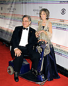 Washington, DC - December 2, 2007 -- Itzhak Perlman and his wife, Toby Friedlander,  arrive at the John F. Kennedy Center for the Performing Arts for the gala performance honoring the 30th Annual Kennedy Center honorees in Washington, D.C. on Sunday, December 2, 2007. The honorees for 2007 are: Leon Fleischer, Steve Martin, Diana Ross, Martin Scorsese, and Brian Wilson..Credit: Ron Sachs / CNP