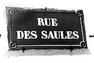 Paris, August 1977. Rue Des Saulles. Vie Quotidienne des Juifs a Paris.