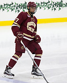 David Cotton (BC - 17) - The Harvard University Crimson defeated the visiting Boston College Eagles 5-2 on Friday, November 18, 2016, at the Bright-Landry Hockey Center in Boston, Massachusetts.
