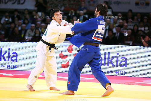 Naohisa Takato (JPN), DECEMBER 4, 2015 - Judo : IJF Grand Slam Tokyo 2015 International Judo Tournament Men's -60kg Final at Tokyo Metropolitan Gymnasium, Tokyo, Japan. (Photo by Sho Tamura/AFLO SPORT)