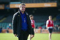 Bath Rugby Head Coach Mike Ford. Bath Rugby Captain's Run on February 19, 2016 at the Recreation Ground in Bath, England. Photo by: Patrick Khachfe / Onside Images