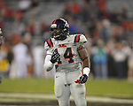 Ole Miss linebacker Ralph Williams (44) vs. Georgia at Sanford Stadium in Athens, Ga. on Saturday, November 3, 2012.