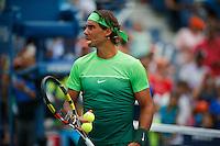 Tennis player Rafael Nadal attends the Arthur ASHE kids day at the US Open 2015 in New York. 08.29.2015.  Eduardo MunozAlvarez/VIEWpress.