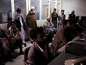 November 2001<br /> Kabul, Afghanistan<br /> <br /> The control room of the TV station which began airing for the first time after being banned for 6 years by the Taliban.
