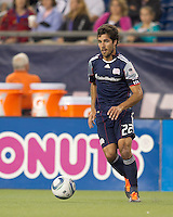 New England Revolution midfielder Benny Feilhaber (22) at midfield. In a Major League Soccer (MLS) match, Chivas USA defeated the New England Revolution, 3-2, at Gillette Stadium on August 6, 2011.