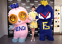 Fendi pop up store opening in Ginza