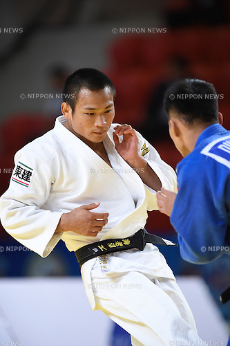 Masashi Ebinuma (JPN), AUGUST 25, 2015 - Judo : World Judo Championships Astana 2015 Men's -66kg 2nd round at Alau Ice Palace in Astana, Kazakhstan. (Photo by AFLO SPORT)