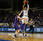UK guard A'dia Mathies shoots during the first half of the women's basketball game vs. LSU Memorial Coliseum , in Lexington, Ky., on Sunday, January 27, 2013. Photo by Genevieve Adams  | Staff.