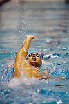 Sano Hidemasa, of Japan, swims to in the men's 400-yard IM event at the AT & T Short Course National Short Course Swimming Championships on December 3rd to the 5th, 2009., in Federal Way Washington. Hidemasa posted a time of 3:48.32. Jim Bryant Photo. ©2009. All Rights Reserved....