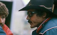 Richard Petty, Atlanta Journal 500 at Atlanta International Raceway on November 11, 1984. (Photo by Brian Cleary/www.bcpix.com)