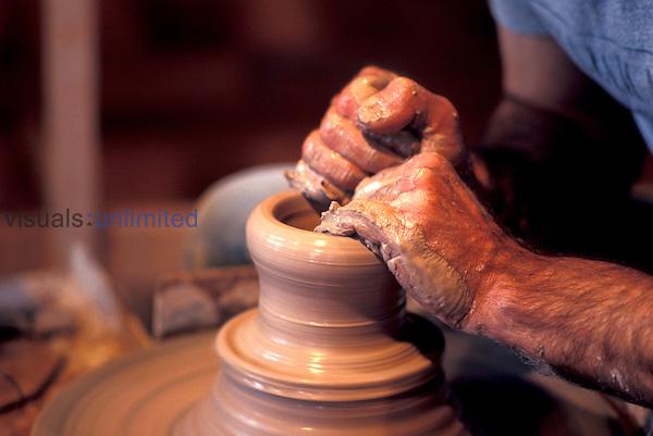 Potter, pottery