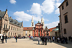 St. George's Basilica within Prague Castle, Hradcany district, Prague, Czech Republic, Europe