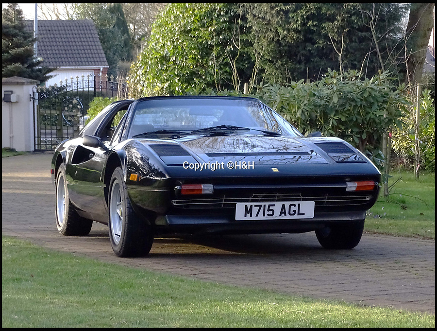 BNPS.co.uk (01202 558833)<br /> Pic: H&amp;H/BNPS<br /> <br /> Ferrari 308 GTS QV estimated at &pound;60,000.<br /> <br /> A stunning sports car owned by David Beckham has emerged in a sale of eleven Ferraris - making a whole football team of motors. <br /> <br /> Golden Balls owned the 360 Spider in the early noughties when he was at the peak of his powers ahead of a big money move to Real Madrid. <br /> <br /> Becks, a renowned car nut, kitted the 2001 motor out with an F1-style gearbox, carbon fibre backed racing seats, tinted windows and custom bodywork.<br /> <br /> The car's combined worth is a whopping &pound;2,200,000.