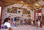 Children's art at the Sawdust Festival