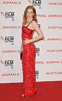 Ellie Bamber at the &quot;Nocturnal Animals&quot; 60th BFI London Film Festival Headline gala screening, Odeon Leicester Square cinema, Leicester Square, London, England, UK, on Friday 14 October 2016.<br /> CAP/CAN<br /> &copy;CAN/Capital Pictures /MediaPunch ***NORTH AND SOUTH AMERICAS ONLY***