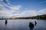 Silver Peak and Upper Kinney Lake, Toiyabe National Forest, California