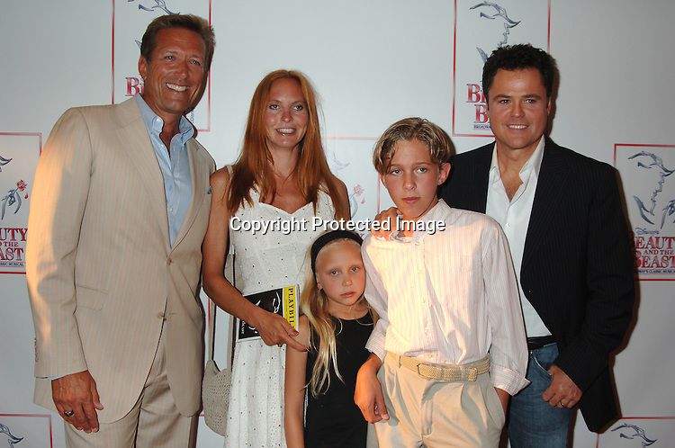 Donny Osmond Wife and Children