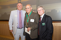 Mark Pasanen, M.D., left, Dean Rick Morin, M.D., right. Reunion 2013.